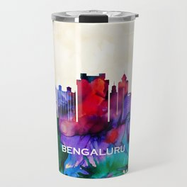 Bengaluru Skyline Travel Mug