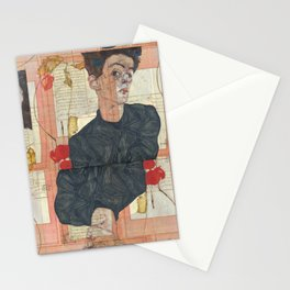 Persian mix: Egon Schiele Stationery Cards