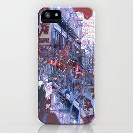 Yokohama Chinatown iPhone Case