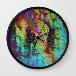 Bust 02 Wall Clock