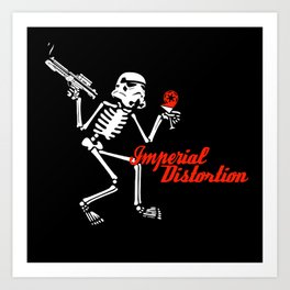 Imperial Distortion Art Print