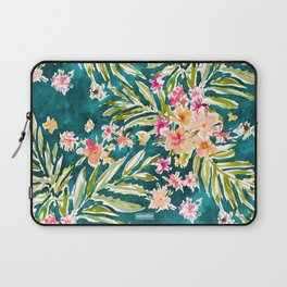 NUEVO VALLARTA Tropical Floral Laptop Sleeve