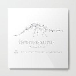 thunder lizard Metal Print