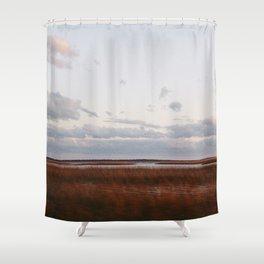 Tybee Marsh Shower Curtain