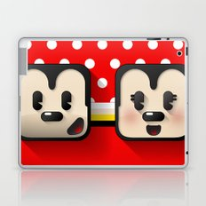 sweethearts, mickey and minnie Laptop & iPad Skin