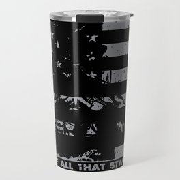 The Monsters And The Weak - US Army Veteran Travel Mug