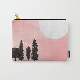Pink Sunny Field Carry-All Pouch