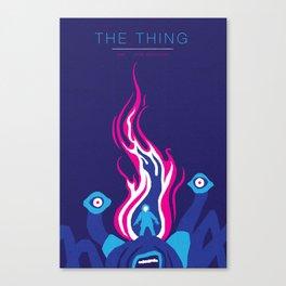 John Carpenter, Modern Master Series :: The Thing Canvas Print