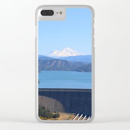 Mount Shasta and Shasta Lake Clear iPhone Case
