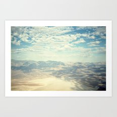 Death Valley Cloud Shadows Art Print