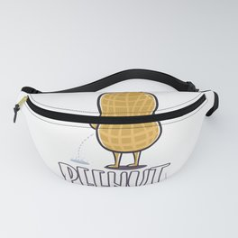 "Funny Peanut product ""Peenut"" - perfect gift Fanny Pack"