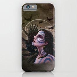 The Morrigan iPhone Case
