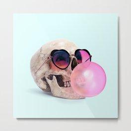BubblegumSkull Metal Print