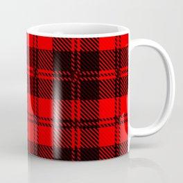 Tartan Wool Material Coffee Mug