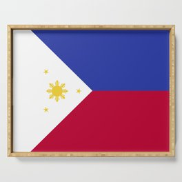 Philippines flag emblem Serving Tray