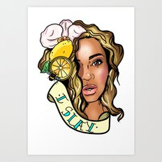 Bey Art Print