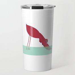 Flamingo Yoga Travel Mug