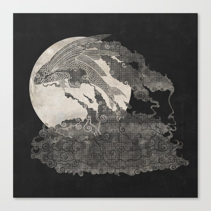 Ocean Moon  Canvas Print