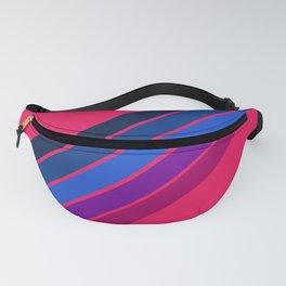 Pink Stripes Fanny Pack