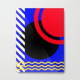 """Abstract Models Pt.II."" Metal Print"