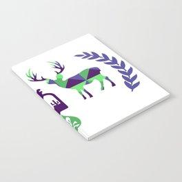 2 deers Notebook