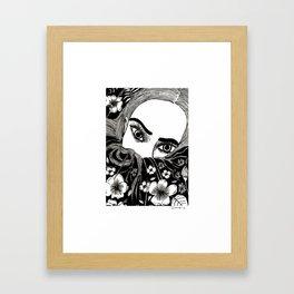 Don't say I didn't tell you, or that you didn't see that coming. Framed Art Print