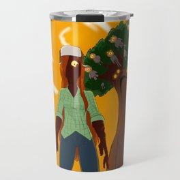 Not real Travel Mug