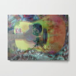 So Much Daze, So Little Sun Metal Print