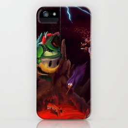 The Dystopian King (Bowser) iPhone Case