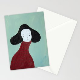 My Red Sweater Stationery Cards