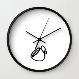 The Coffee Cup Wall Clock