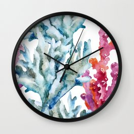 Sea Life Pattern 02 Wall Clock