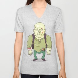Yippee Ki Yay, MF Unisex V-Neck