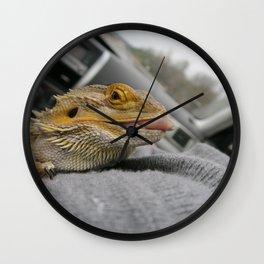 A Lot of Tongue Wall Clock