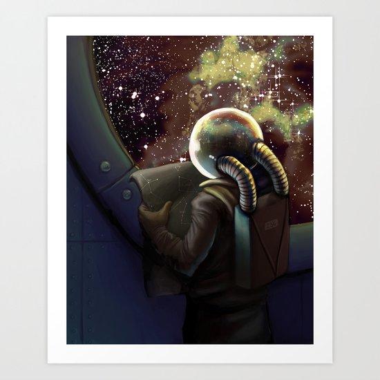 Stellar Directions Art Print