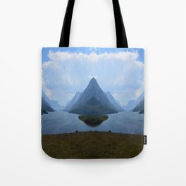 Mirrored Landscape Tote Bag