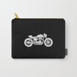 Triumph Bonneville - Cafe Racer series #3 Carry-All Pouch