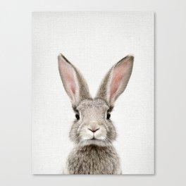 Bunny Portrait Canvas Print