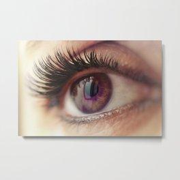 Eye eclipse Metal Print