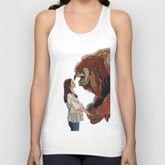 Inside the labyrinth, Ludo Unisex Tank Top