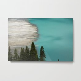 Edge of Lake Metal Print