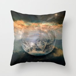 Planetary Soul Altitude Throw Pillow