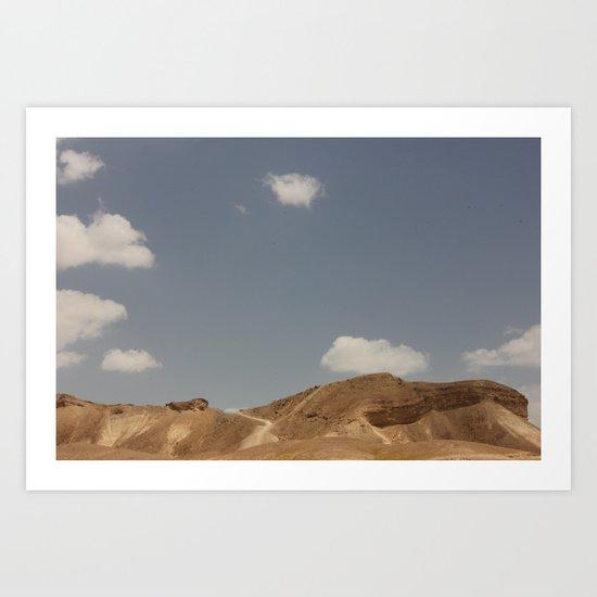 Desert Sky II Art Print