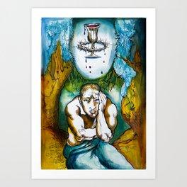 Agony in Gethsemane  Art Print