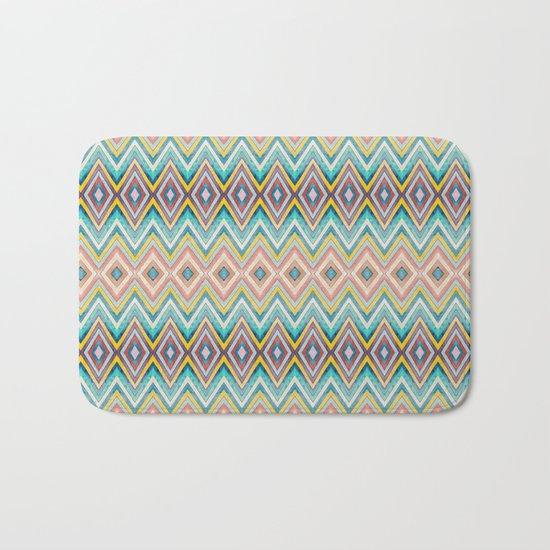 Geometric Color Fun Bath Mat