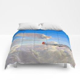 Racing the Wind Comforters