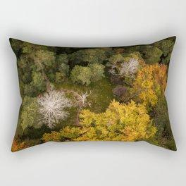 Forest Birdview Rectangular Pillow