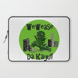 "Baby Godzilla ""Wewease Da Kaiju!"" Laptop Sleeve"