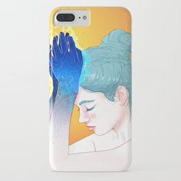 Fire Hands iPhone Case