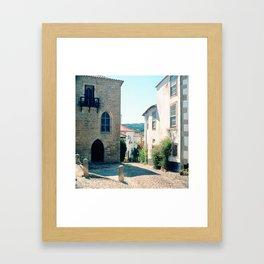 Obidos, Portugal(RR178) Analog 6x6 Kodal Ektar 100 Framed Art Print